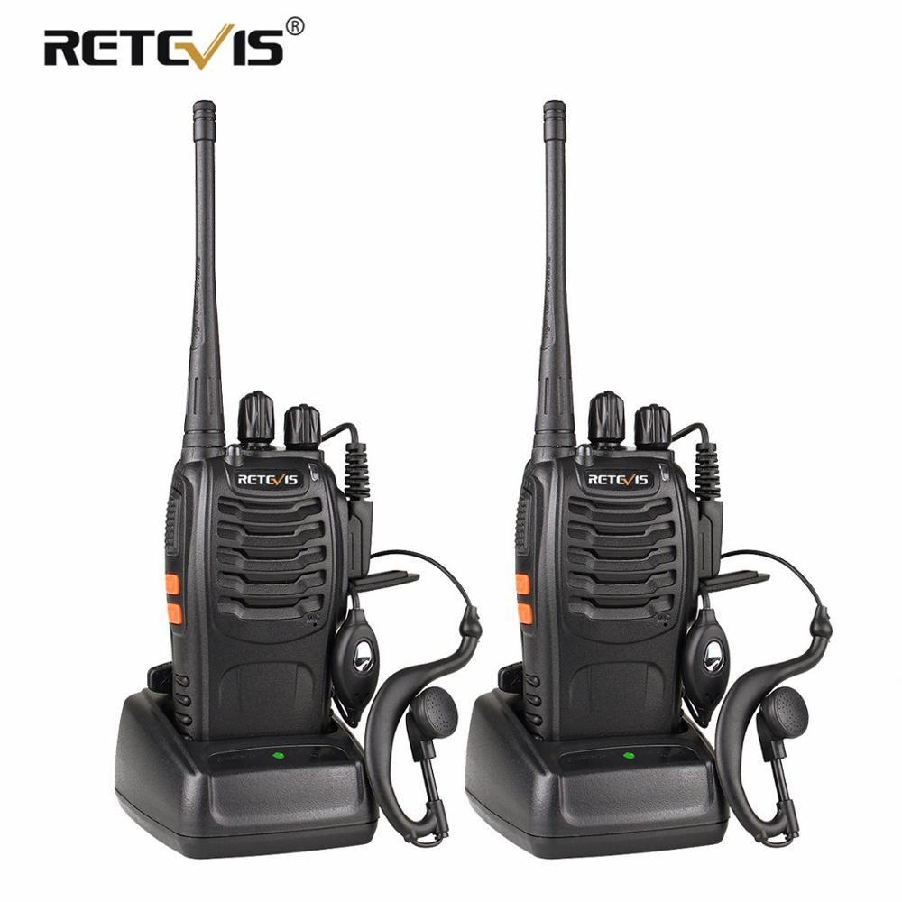 2 pièces rechape H777 talkie-walkie 3 W UHF Station de Radio bidirectionnelle émetteur-récepteur Radio bidirectionnelle communicateur USB charge talkie-walkie