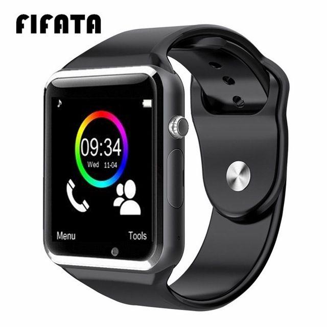 FIFATA Bluetooth A1 montre intelligente sport Tracker hommes femmes Smartwatch IP67 étanche A1 montres pour Android IOS PK P68 IW8 IW9