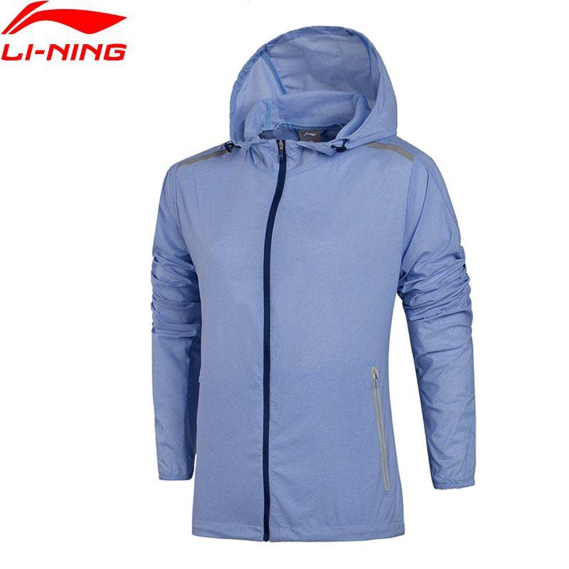 Li-Ning Women Running Coats AT PROOF SMART Waterproof LITE AT Light LiNing Sports Windbreaker AFDM108 WWF870