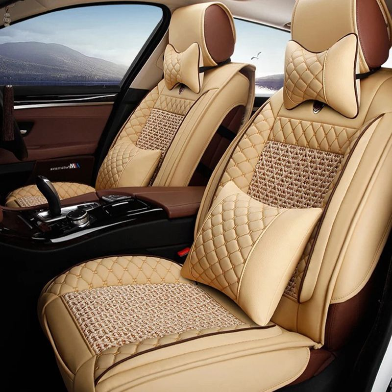 Universal Leder autositzbezüge Für Renault Kadjar Koleos Captur Megane 2 3 Duster Kangoo Koloes Logan autozubehör styling