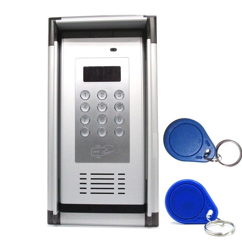 3G GSM Zugangskontrolle Apartment Intercom von Free Phone Call mit RFID Karte & Regendichte Haube Hause fabrik sicheres System K6