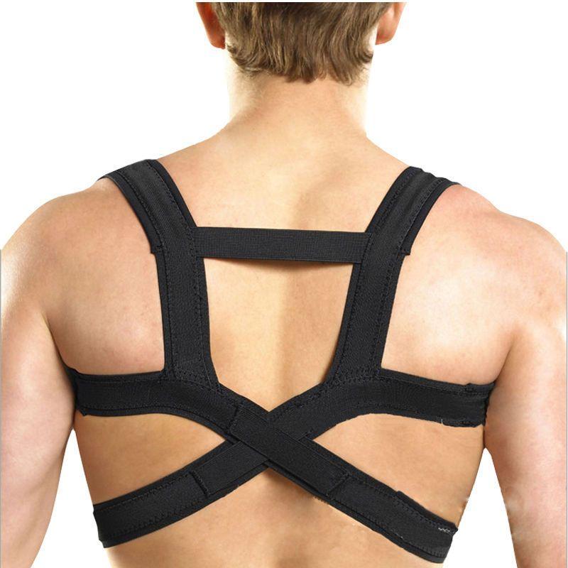 Elastic Back Waist Posture Corrector Waist Support Belt Clavicle Support Back Shoulder Brace Belt Male Corset FM1031