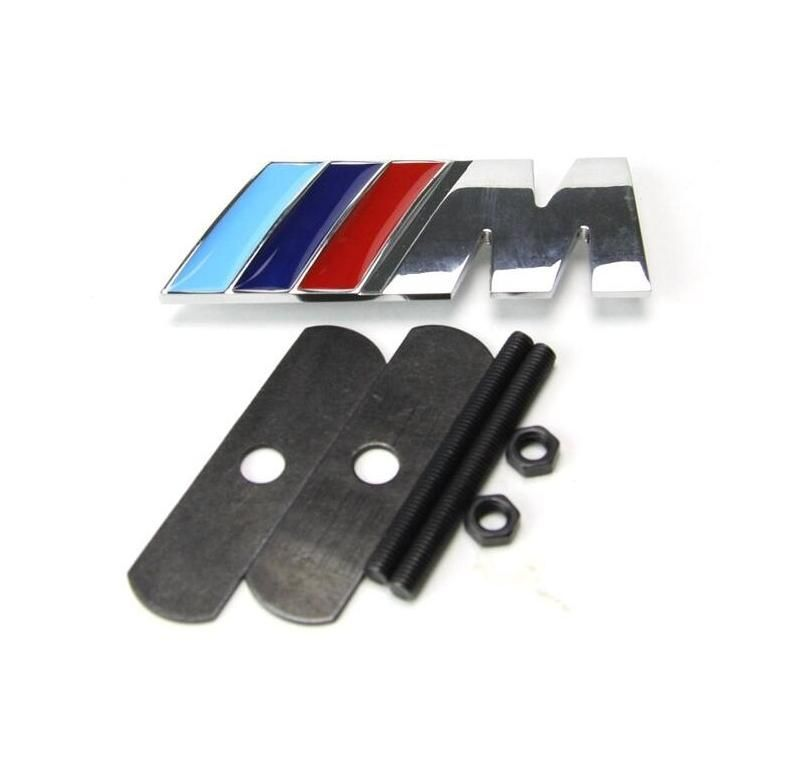 Automobile Accessories Exterior Replacement Parts Grill Badge With Car Styling ///M Logo Emblem