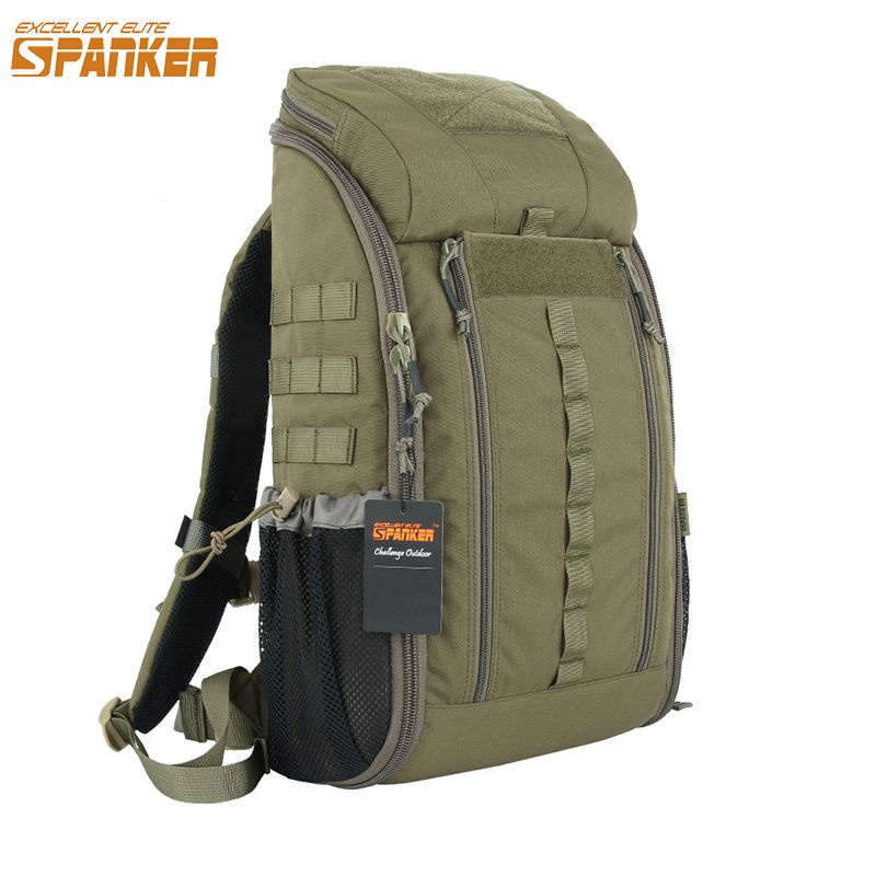 EXCELLENT ELITE SPANKER Outdoor Tactical MOLLE Medical Backpack Waterproof Tactical Camouflage Bags Military Hunting Backpack