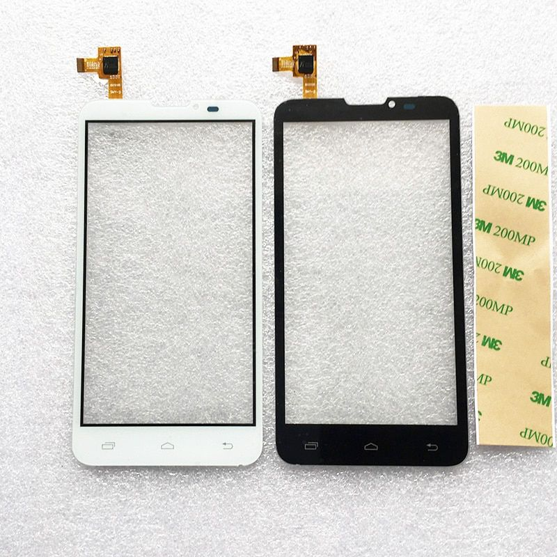 New Touch Screen For Prestigio MultiPhone PAP 5300 Duo PAP5300 Phone Touch Screen Panel Digitizer Glass +3M Sticker