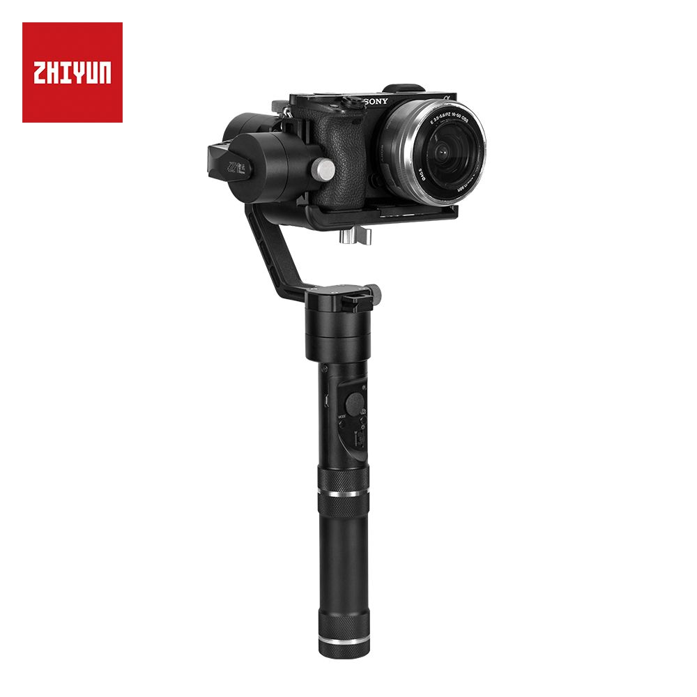 zhi yun Zhiyun Official Crane M 3-Axis Brushless Handheld Gimbal Stabilizer for Mirrorless Camera Action Camera Support 650g
