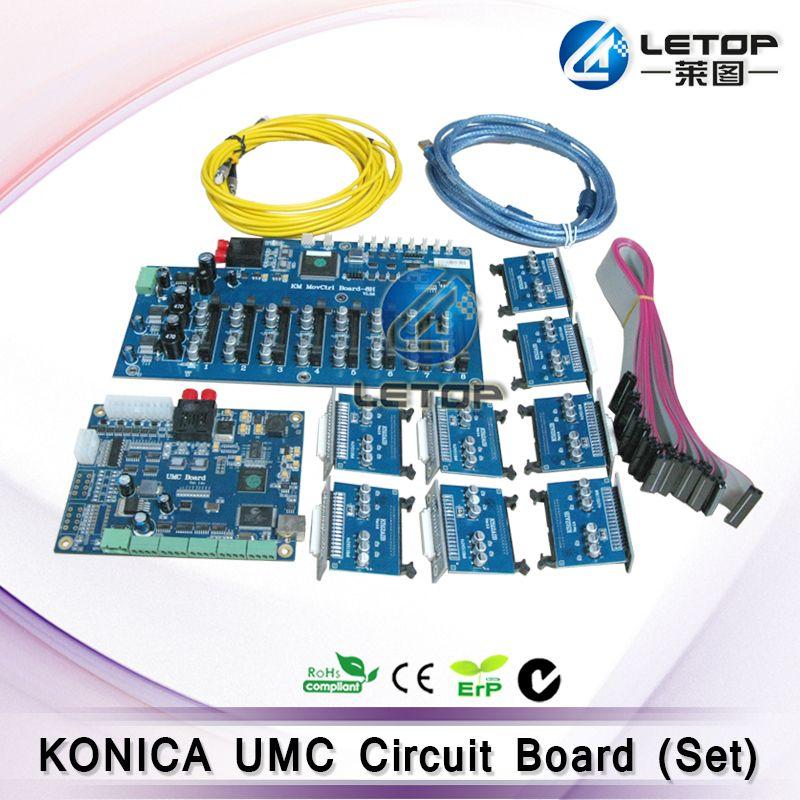 Gute Preis! Inkjet Drucker Konica UMC Bord für Konica kopf 512 42pl druckkopf
