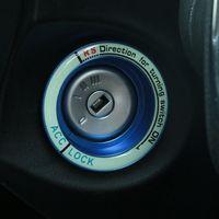 Стайлинга автомобилей, световой зажигания автомобиля замочную скважину кольцо украшения Обложка для Ford Focus 2 3 4 2005-2017 для Focus ST RS, авто аксесс...