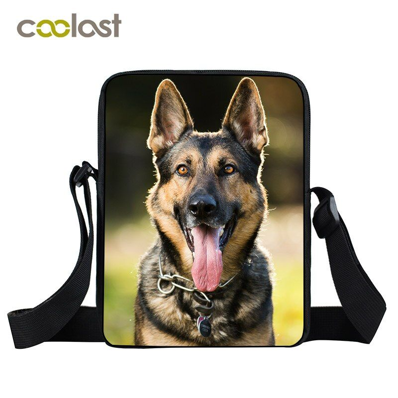 Berger allemand/Chihuahua/Husky sac à bandoulière pour hommes femmes sacs à main Rottweiler chien Mini sac Messenger aigle sacs à bandoulière