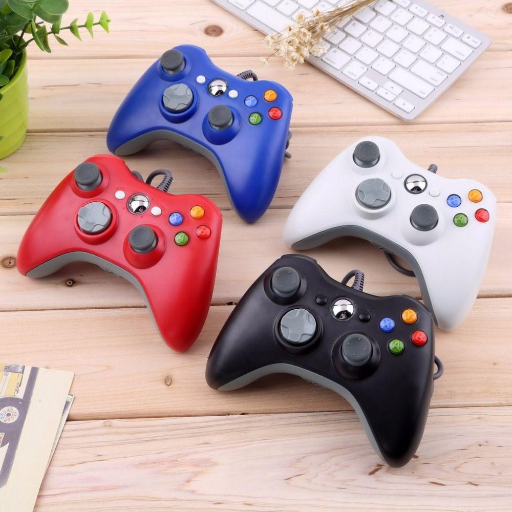 USB проводной Joypad геймпад белый контроллер для Microsoft для Xbox и тонкий для 360 шт. для Оконные рамы 7 Лидер продаж по всему миру