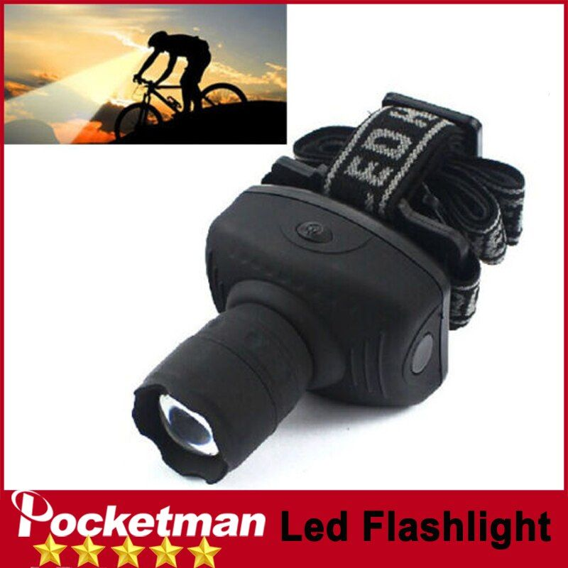 Z50 Für Camping Jagd Led-scheinwerfer CREE 600 Lumen Taschenlampe Frontal Laterne Durable Zoomable Kopf Taschenlampe Bike Riding Lampe