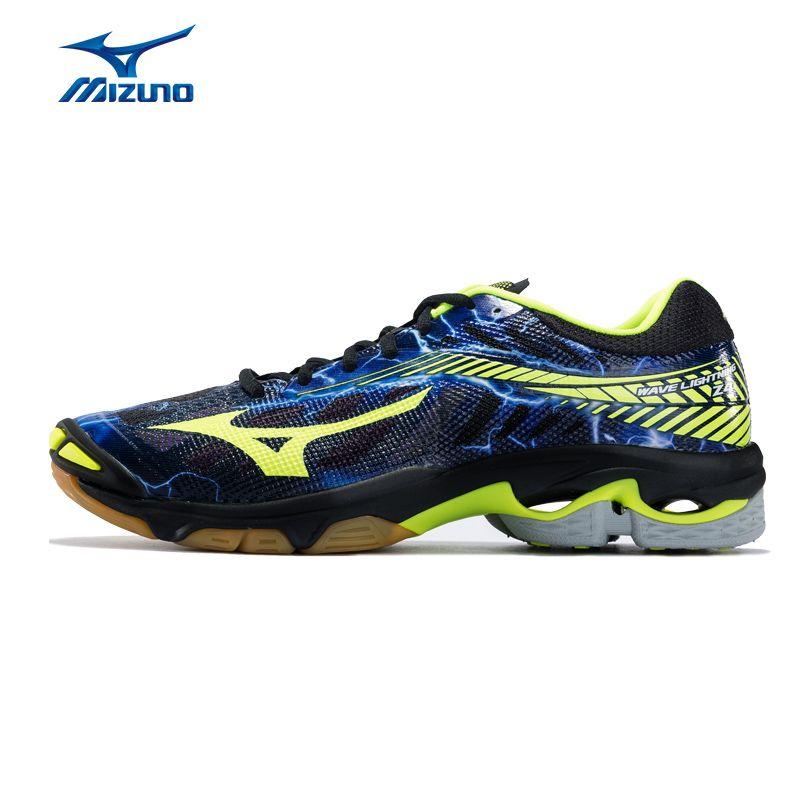 MIZUNO Männer WELLE BLITZ Z4 Volleyball Schuhe Kissen Stabilität Bequeme Sport Schuhe Breathable Turnschuhe V1GA180000 XYP625