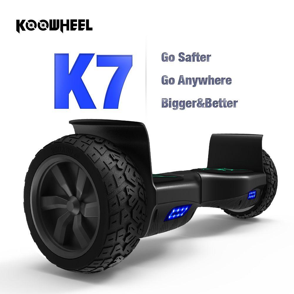 Koowheel Hoverboard 8,5 Zoll 1000 Watt Kreuz Land Rädern Balance Board Roller Elektrische Oxboard Deutschland Lager Keine Steuer