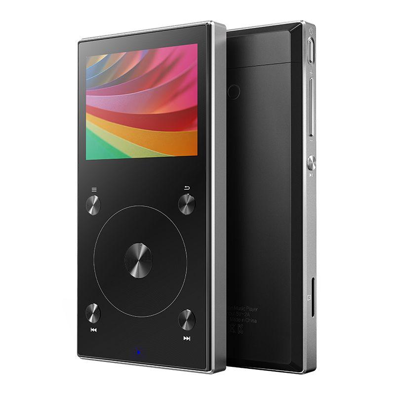 Original FIIO X3 Mark III Hi-Res Audio Balanced Bluetooth 4.1 DSD Portable Hi-Res Music HIFI FEVER MP3 Player& FIIO Accessories