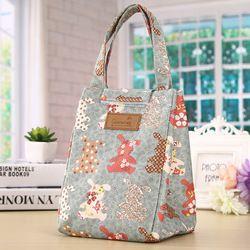 New Women Thermal Insulation Lunch Bag  Big Capacity Travel Women Handbag Food Picnic  Cooler Box Bag Storage Tote Bag