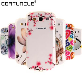 Phone Case For Samsung Galaxy S3 Silicone Pattern Soft TPU Clear Gel Back Cover For Samsung Galaxy S3 i9300 Neo Duos i9300i Case