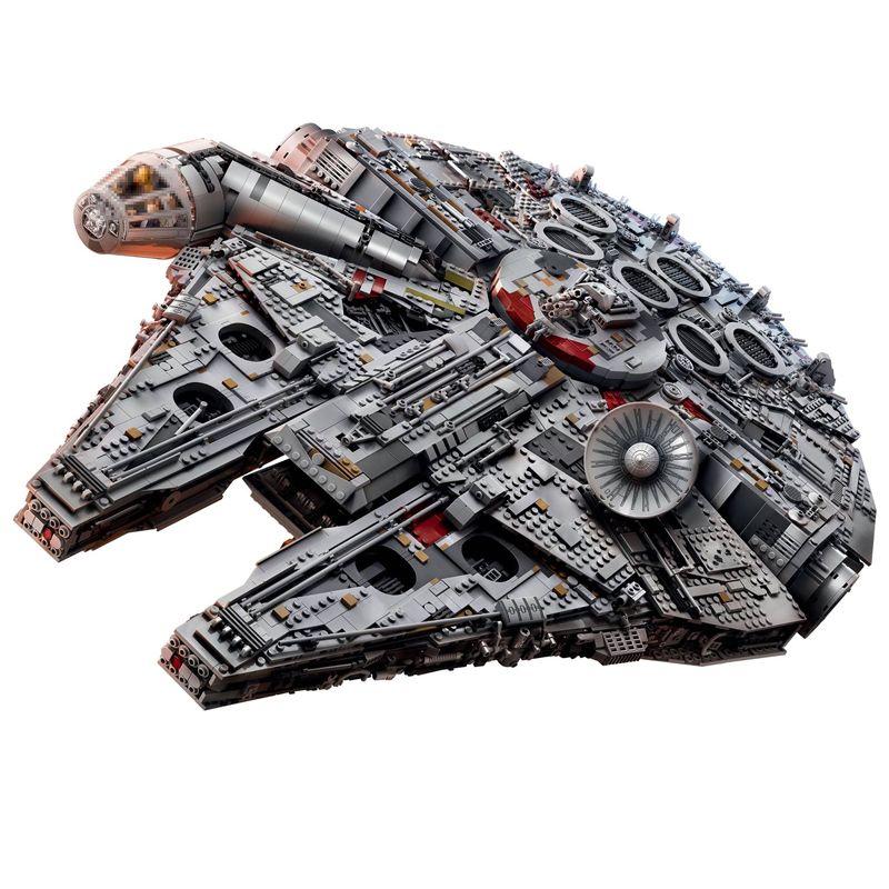 Lepin 05132 Star Serie 8445 Stücke Wars Ultimative sammler Modell Destroyer Bausteinziegelsteine Legoed 75192 Spielzeug Für Kinder