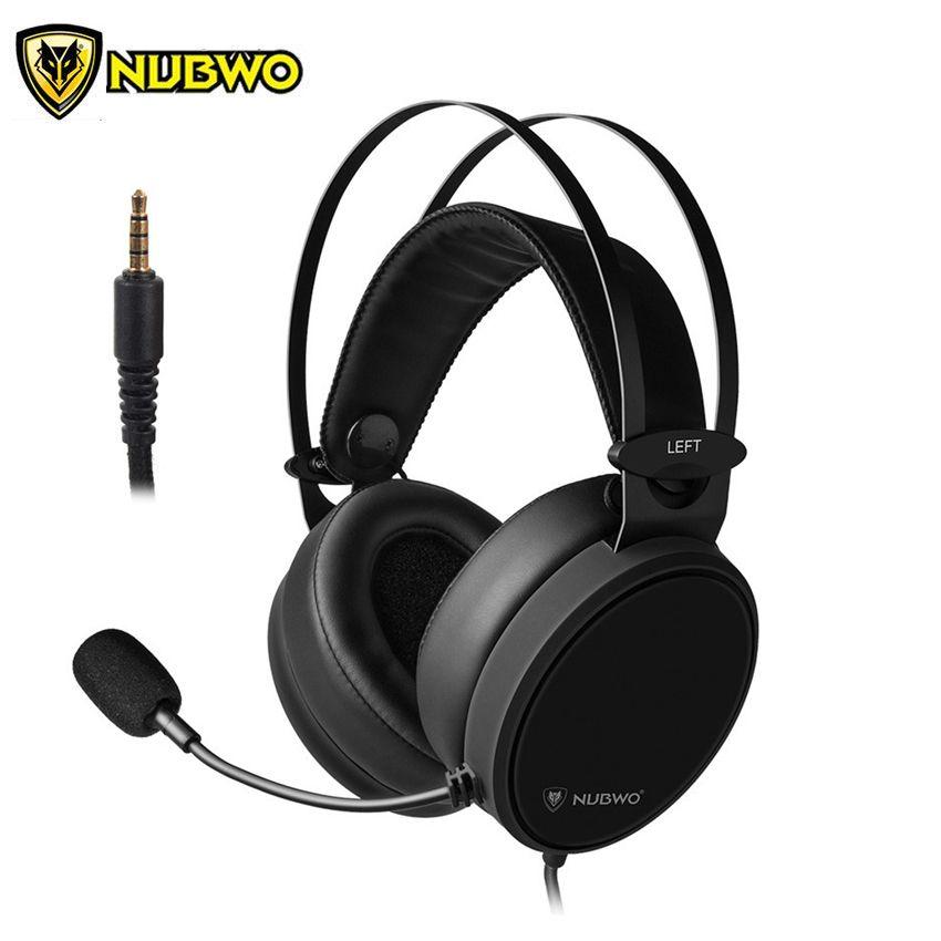 NUBWO N7 PS4 Headset Beste Gamer casque Stereo Gaming Kopfhörer mit Mikrofon für PC/Xbox One/Laptop /Nintendo Schalter