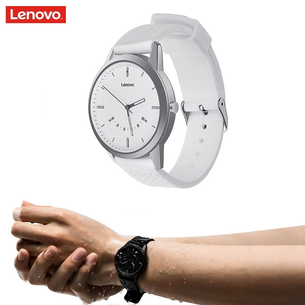 New Lenovo Watch 9 Bluetooth Smartwatch Wristband Heart Rate Monitor Bracelet Fitness Tracker for IOS Android for Women Men