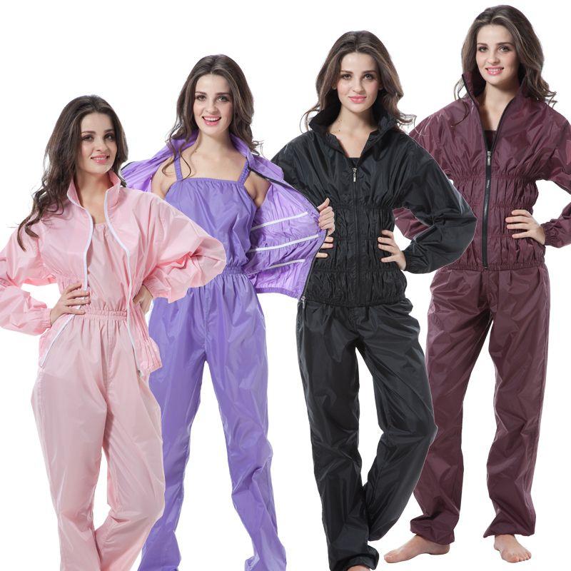 Femmes Femme Gym Sauna Pantalon Chemise Ensemble Femme de Remise En Forme Perte de Poids Aérobic Vêtements Minceur Pantalon Lâche Poids Sauna Ensembles Costume