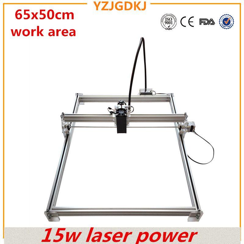 15w high-power laser engraving machine working size 65x50cm full set of laser engraving machine engraving machine for sale
