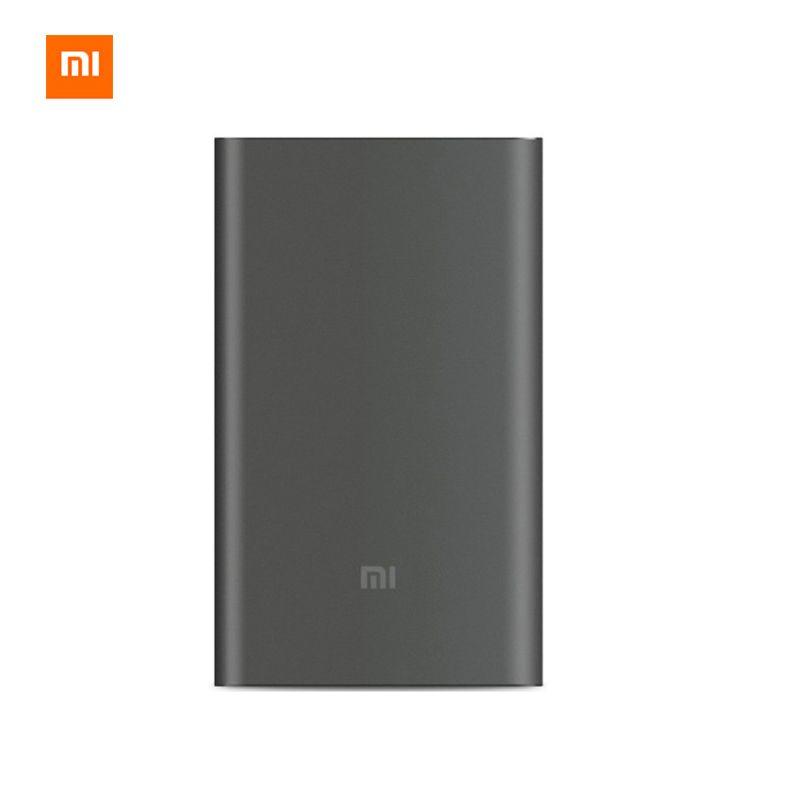 Original Xiaomi Energienbank 10000 mAh Pro Schnellladung 10000 mAh Power Schnellladegerät QC 2,0 Typ C Externe Akku
