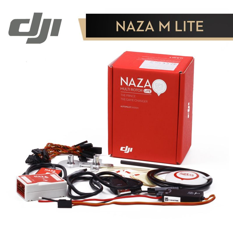 DJI Naza M <font><b>Lite</b></font> Flight Controller Naza-M <font><b>Lite</b></font> ( with GPS ) Multi-rotor Fly Control Combo for RC FPV Drone Quadcopter Original