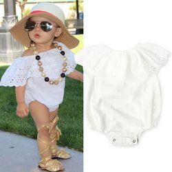 2017 printemps-été vêtements pour enfants sunsuit bébé porter bébé fille onesie bebe boutique salopette bébé filles vêtements