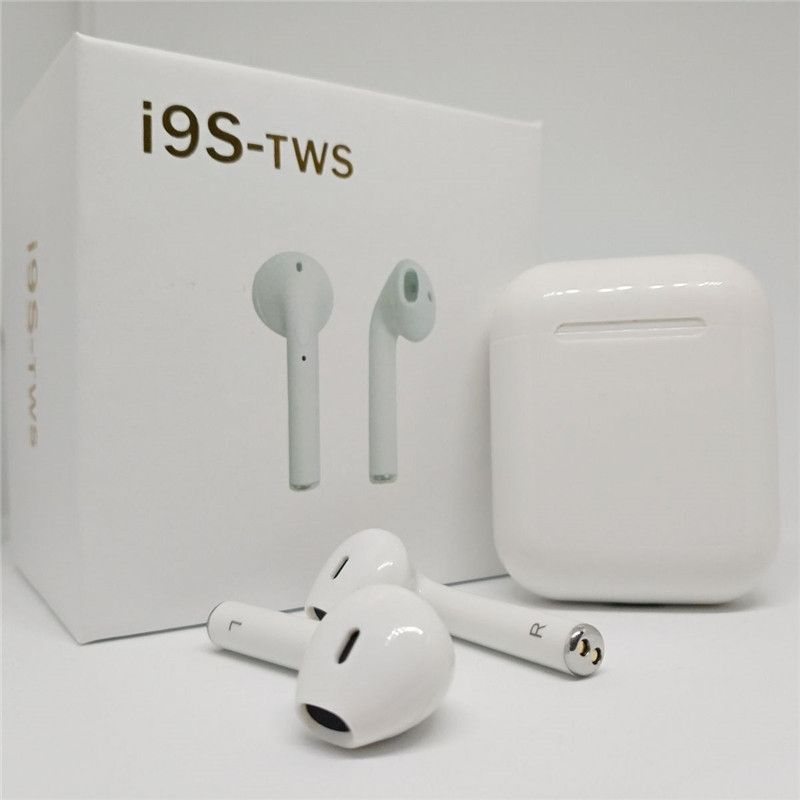 I9S TWS Wireless Earphone Portable Bluetooth Headset Invisible Earbud for IPhone X 8 7 Plus For Xiaomi Mobile Android Phones