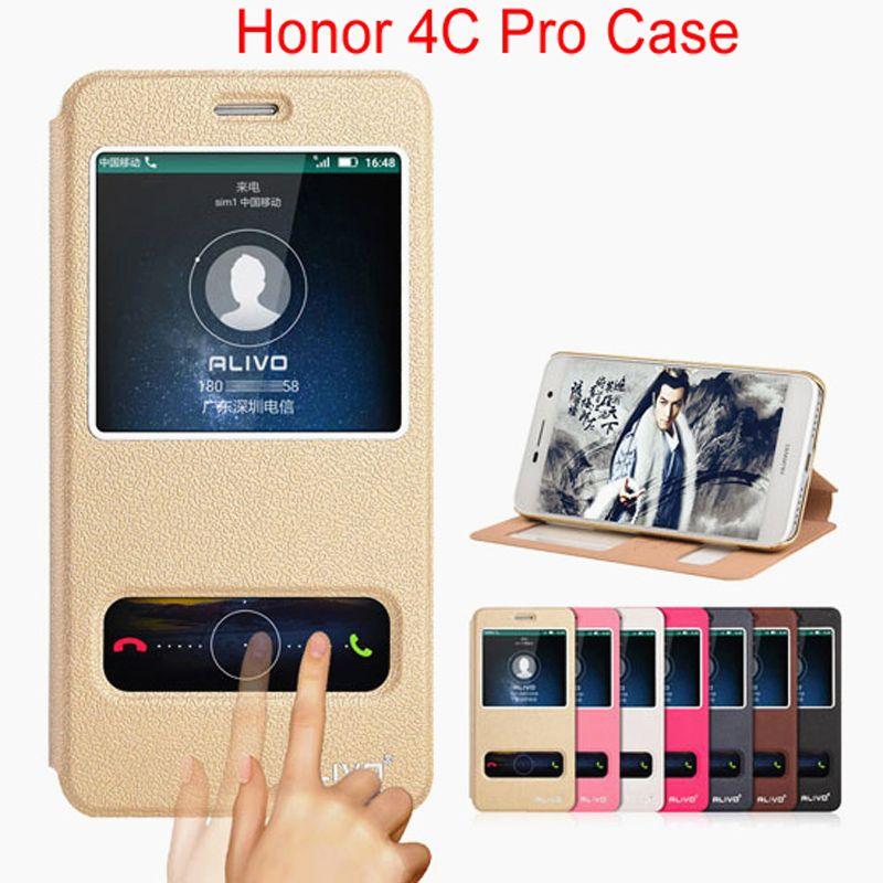 Fundas Pour Huawei Honor 4C Couvercle Rabattable Étui En Cuir Pour Huawei Honor 4C Pro Couverture Phone Etui D'origine