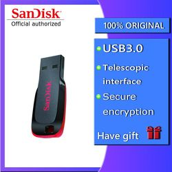 SanDisk CZ50 USB Flash Drive Enkripsi Mobil Mini Usb Flashdisk 8 Gb 16 GB 32 GB 64 GB 128 GB memory Stick Pen Drive Flashdisk