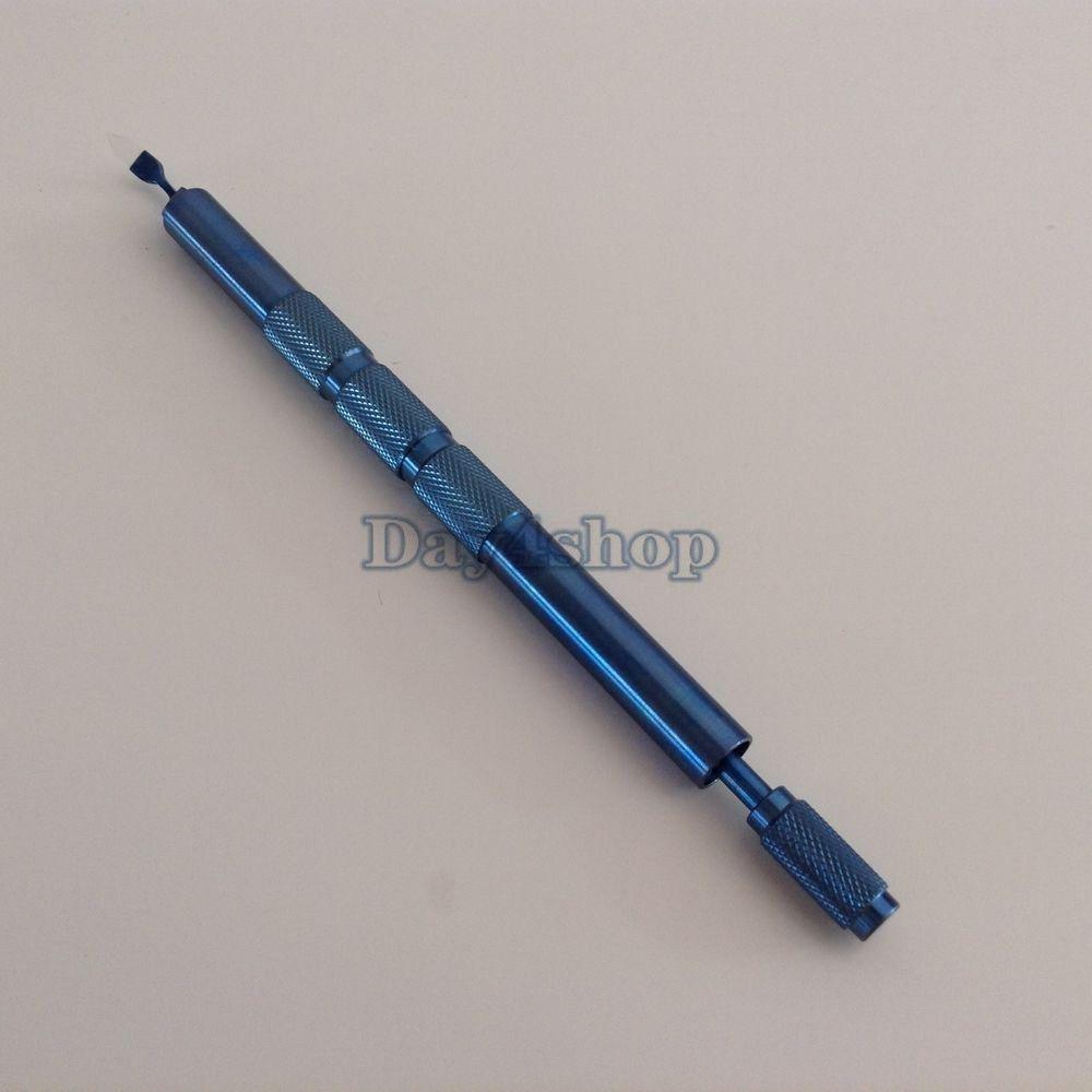 Sapphire klingen Keratome chirurgische instrument titan griff 2,5mm