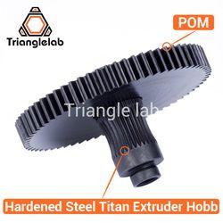 Trianglelab 3d imprimante Titan Extrudeuse nouveau metal gear Hobb (En Acier Trempé) livraison gratuite reprap mk8 i3