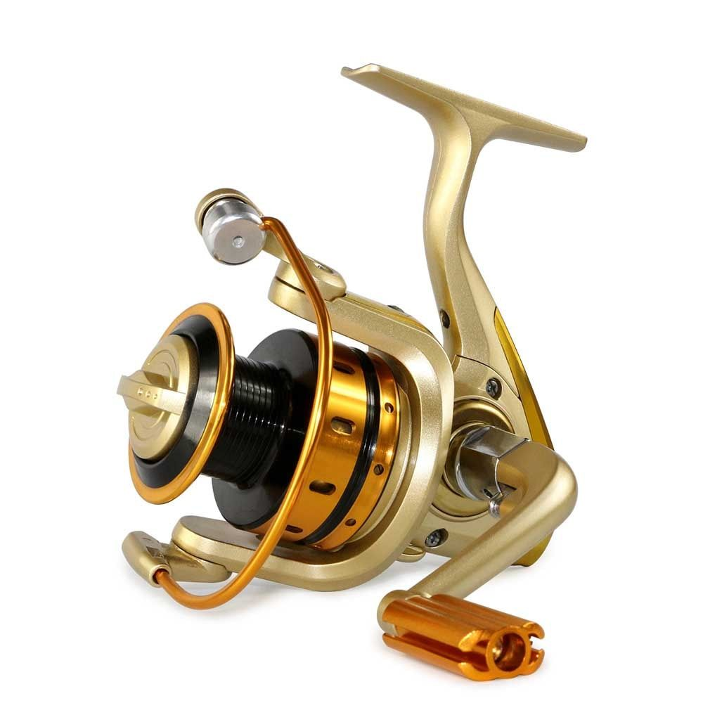 German technology 1000-7000 seires 10 bears metal front drag spinning <font><b>fishing</b></font> reel free shipping <font><b>Fishing</b></font> Spinning Reel Pesca