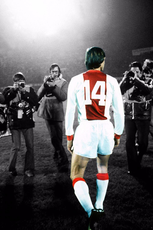El legendario futbolista Holandés johan cruyff posters 60X90 CM