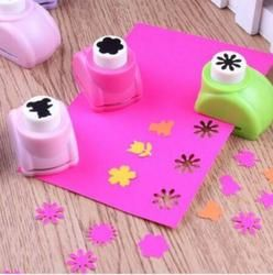 Mini Poinçons Album Main Cutter Carte Artisanat Calico Impression Fleur Papier Poinçon de Métier Perforatrice Forme Outil BRICOLAGE