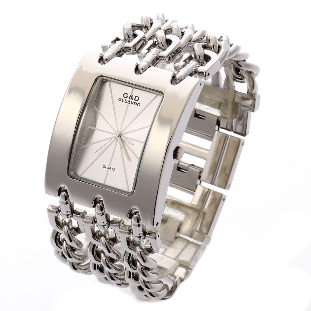 2017 G&D Top Brand Luxury Women Wristwatches Quartz Watch Ladies Bracelet Watch Dress Relogio <font><b>Feminino</b></font> Saat Gifts Reloj Mujer