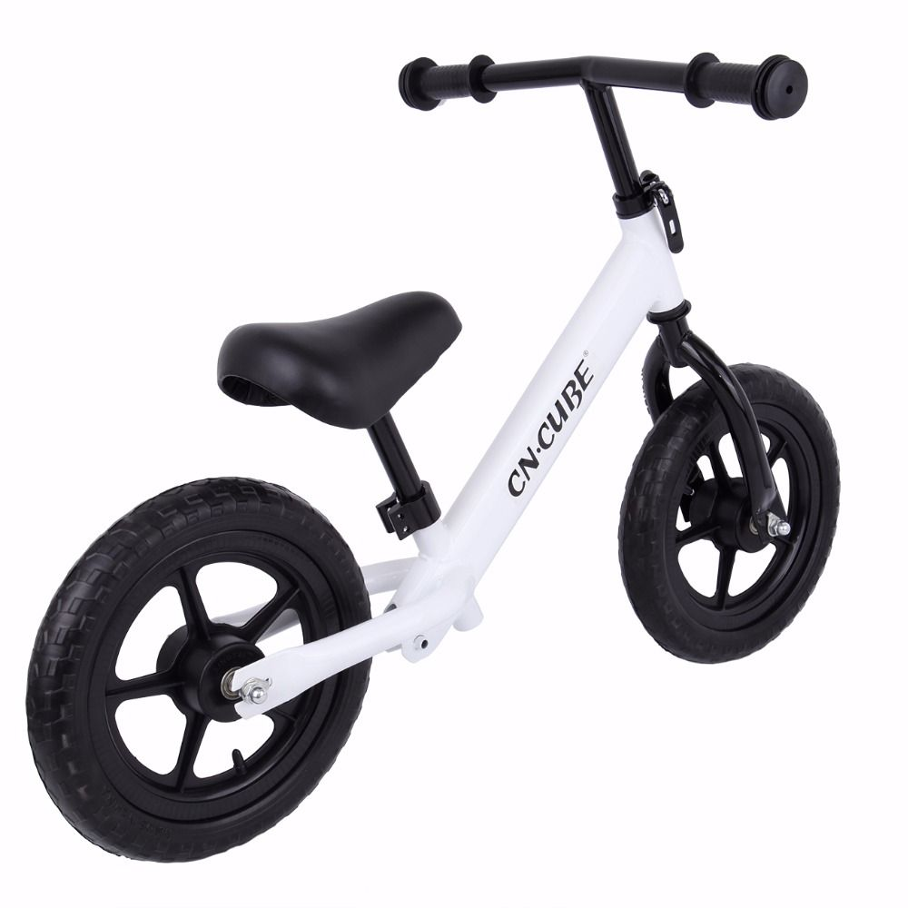 (<font><b>Ship</b></font> from US) 12 Kids Balance Bike ClassicNo-Pedal Learn To Ride Pre Bike with Adjustable Seat