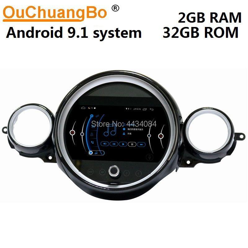 Ouchuangbo auto radio gps nav kopf einheiten für Mini R55 R56 R57 R58 R59 R60 R61 2007-2010 unterstützung 1080P 4 core android 9.1 freies karte
