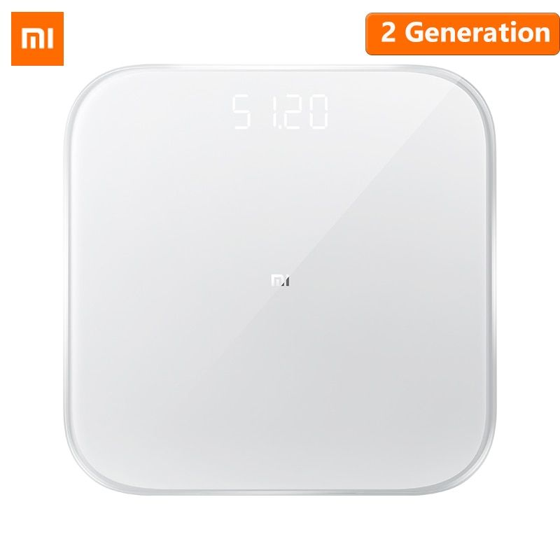 Newest Original Xiaomi Mi Smart Weight Scale 2 Health Weight Scale Bluetooth 5 Digital Scale Support Android 4.3 iOS 9 Mifit APP