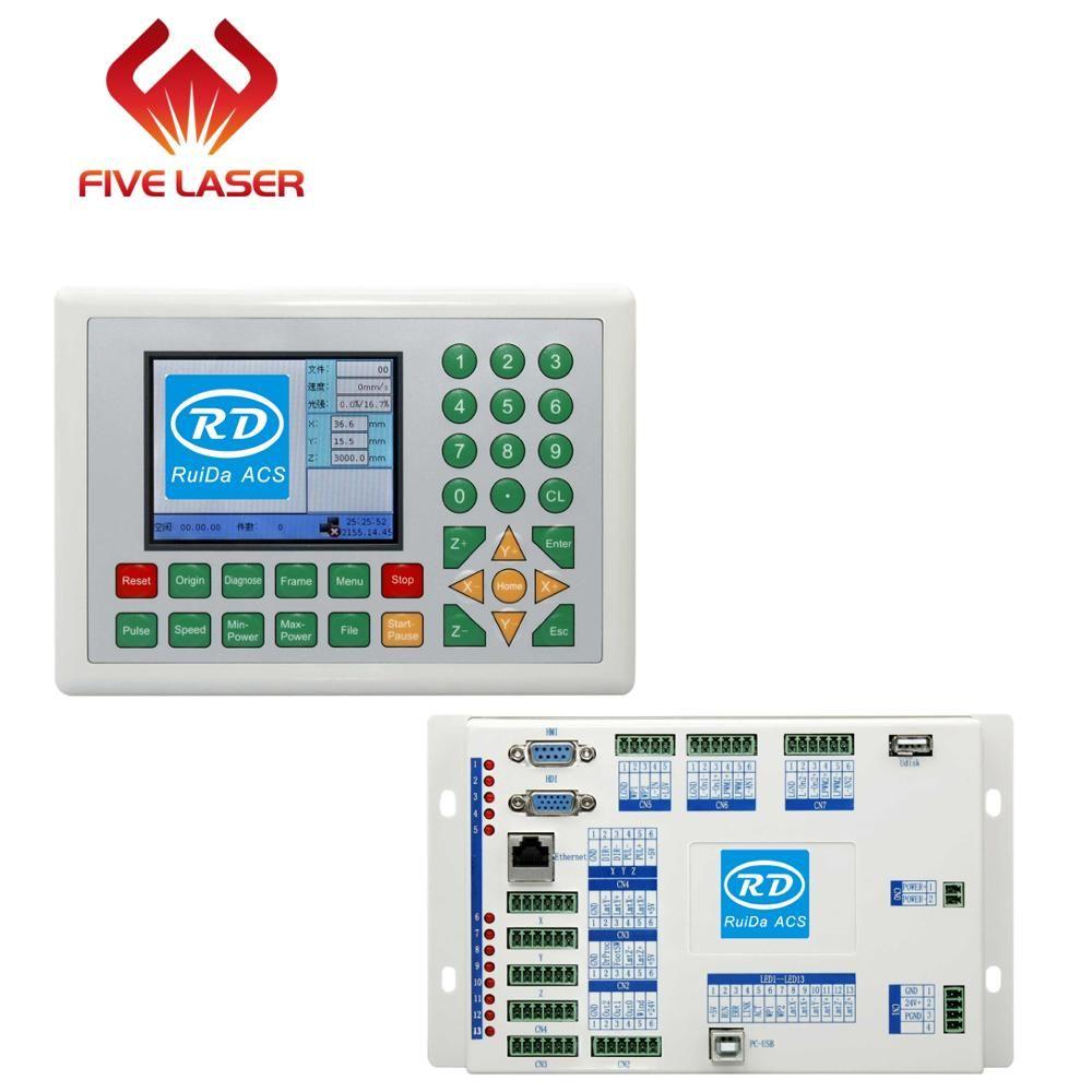 Metall und Nicht metall Laser Schneiden Controller Ruida RDC6332M für laser schneiden und gravieren maschine