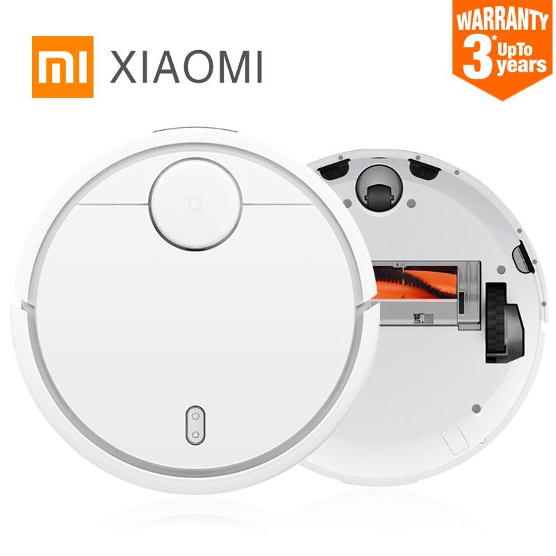 3 year warranty! Original Xiaomi Sweeping Robot Intelligent Robot Household Smart Automatic Efficient Vacuum Cleaner APP Control