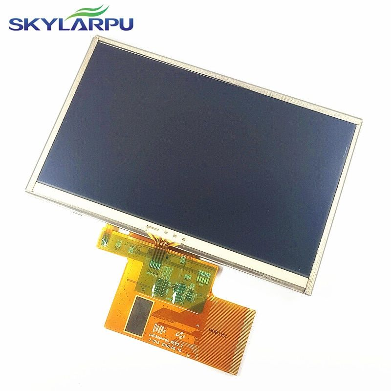 skylarpu 5 inch For TomTom XXL IQ Routes Full GPS LCD display screen with touch screen digitizer panel