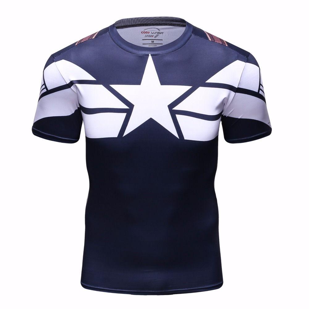 Nouveau 3D imprimé THOR Cosplay homme Compression T-shirts à manches courtes Costume Fitness Crossfit hommes musculation super-héros