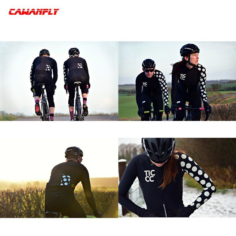 2018 Team Pro Cycling Jersey Women Long Sleeve Shirt Ropa Ciclismo Quick Dry summer bike Skinsuit Outdoor&Sports