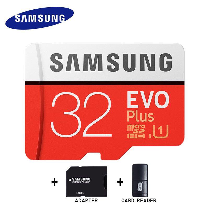 Samsung Micro Sd 32gb 64gb Memory Card 128gb 256gb Class10 TF Flash Memoria SD Card C10 SDHC/SDXC U1/U3 UHS-I For Mobile Phone