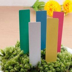100 Pcs Mini En Plastique Graine Étiquette Pot Marker Pépinière Pieu Tags Outil Mignon Jardin Étiquettes 2018