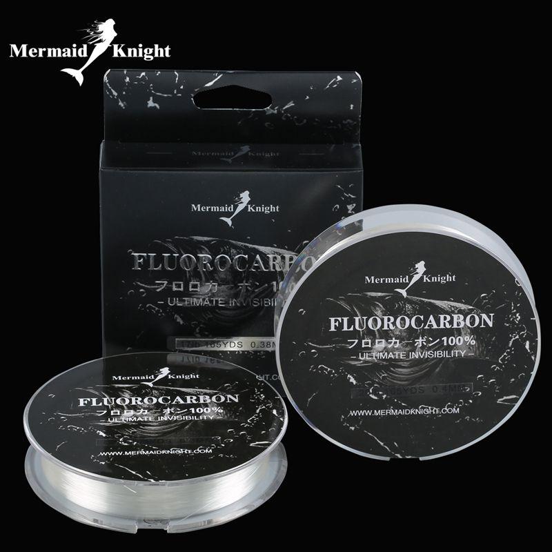 165YdS /150M Fluorocarbon Fishing leader Line Carbon Fiber Leader Line 0.1~0.4MM Discolor For Lure Fishing