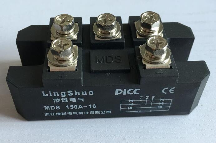 Dreiphasengleichrichterbrücke modul MDS150A 1600 V