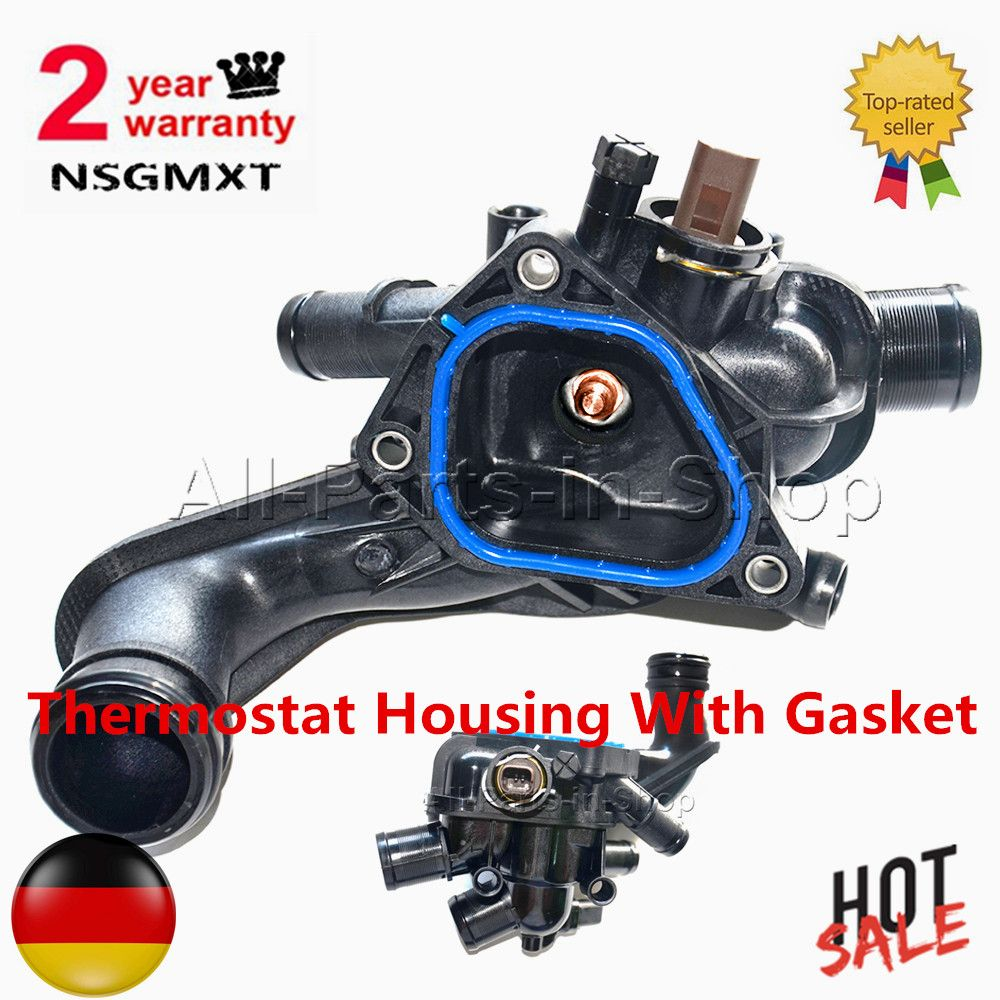 2 Year Warranty Thermostat Housing With Gasket For BMW Citroen C4 Mini Cooper Peugeot 207 308 3008 5008 11537534521 1336.Z6